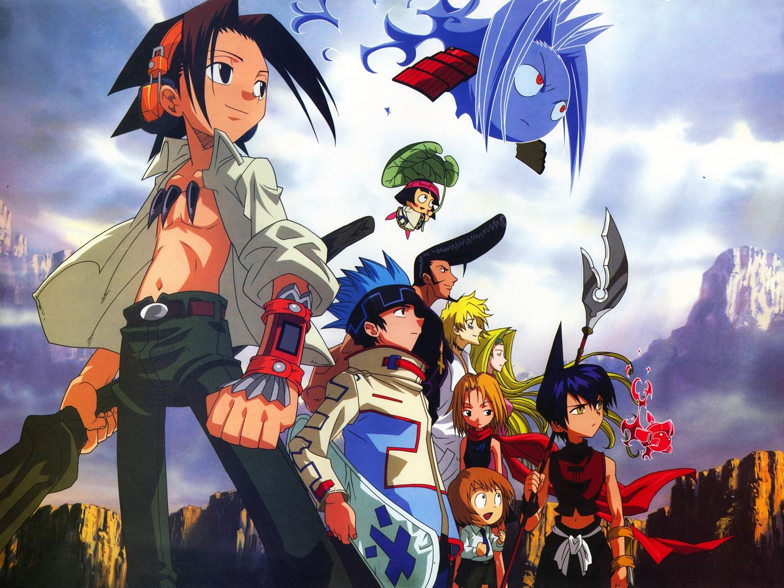 Tags Wallpaper, Shaman King, Asakura Yoh, Amidamaru