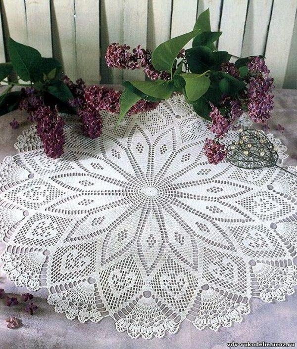 40 Pretty And Easy Crochet Doily For Beginners Easy Crochet