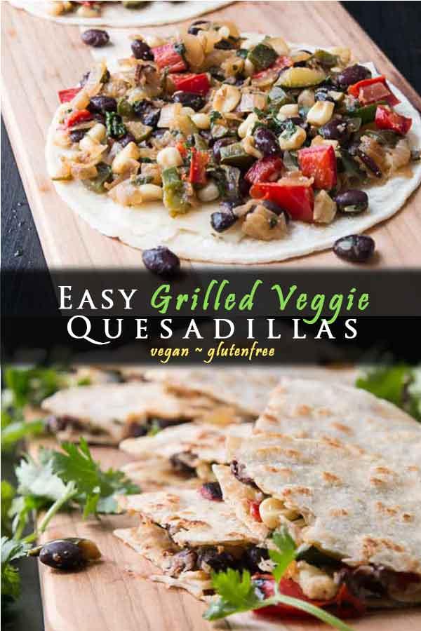 Grilled Veggie Quesadilla With Black Beans Vegetarian Gastronomy Recipe In 2020 Healthy Vegan Snacks Veggie Quesadilla Vegetarian