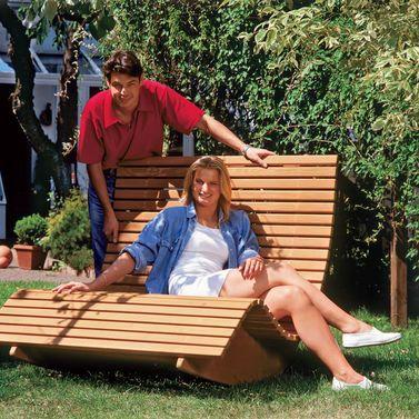 Saunaliege aus Holz Relaxliege, Gärten und Holz - relaxliege holz bauanleitung