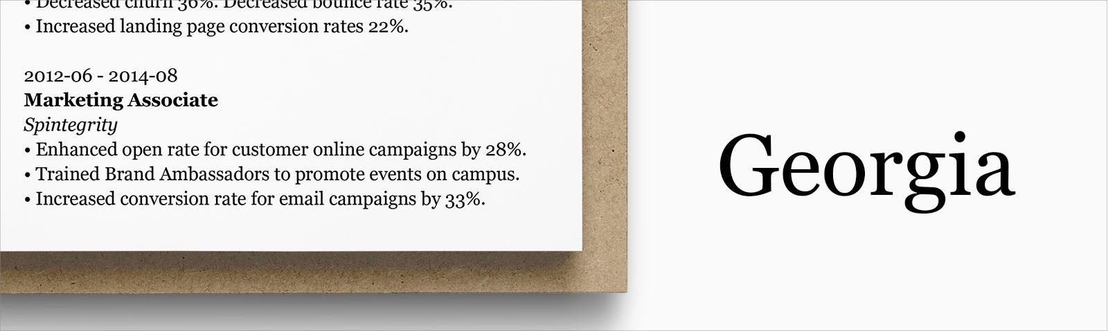 Letter Size Resume Fonts Resume Format Infographic Resume