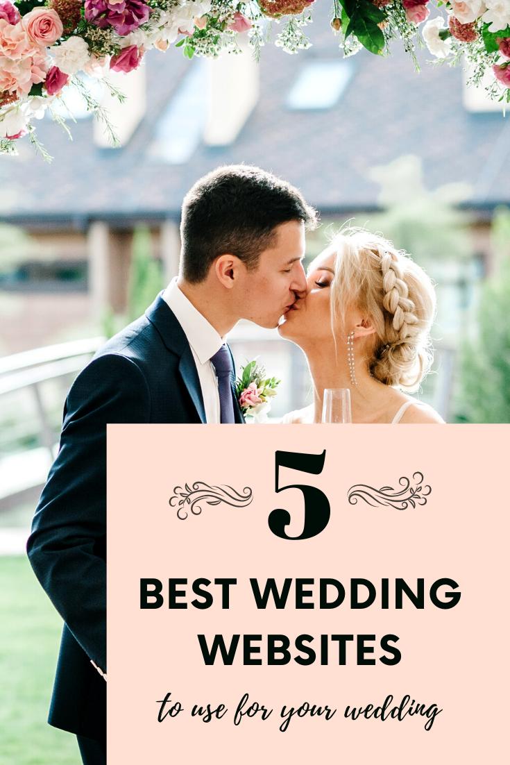 The 5 Best Personal Wedding Website Builders In 2020 Best Wedding Websites Wedding Website Personal Wedding Website