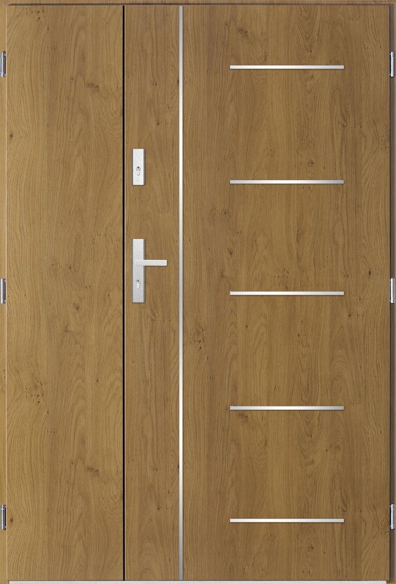 Sta Cortez Uno Porte Double Vantaux Porte Exterieur Encadrement Porte Entree Double