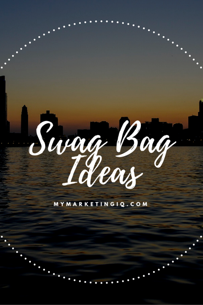 swag bag what are they how can they help you and what do