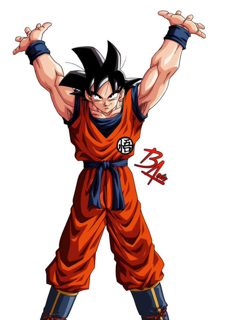 Render De Goku Genkidama By Brianedition Goku Dragon Ball Dragon Ball Goku