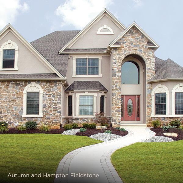 Stone Veneer Exterior Autumn And Hampton Fieldstone Ply Gem Exterior Siding Options Stone