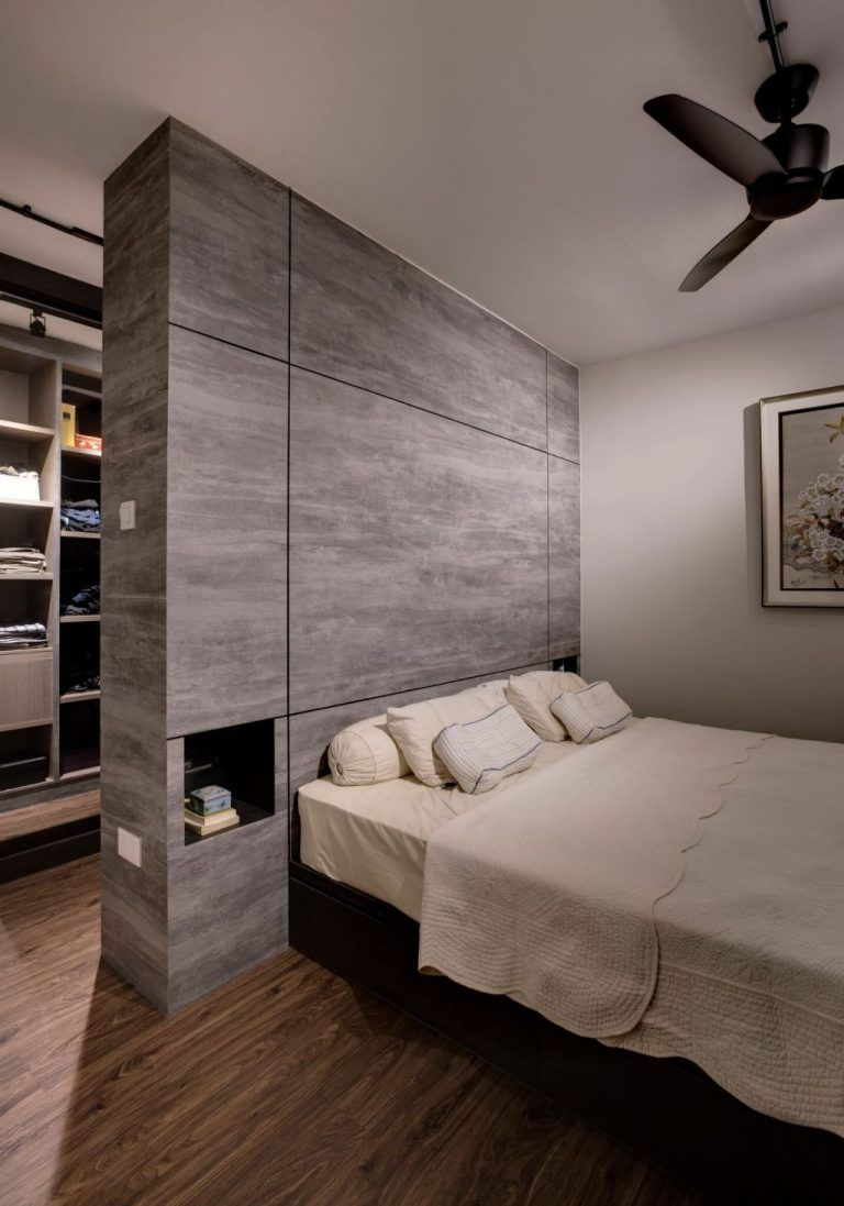 Bedroom Hdb Furniture: 8 Ways To Squeeze A Walk-in Wardrobe In Your HDB Bedroom