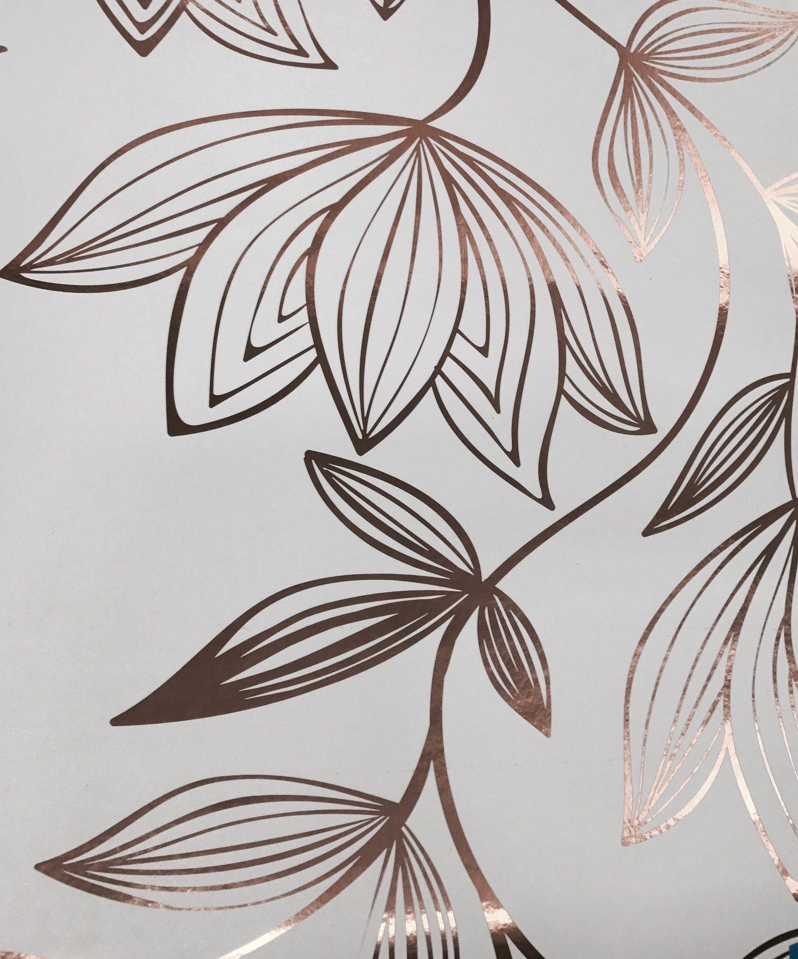 Metallic Wild Magnolia Wallpaper (With images) Magnolia