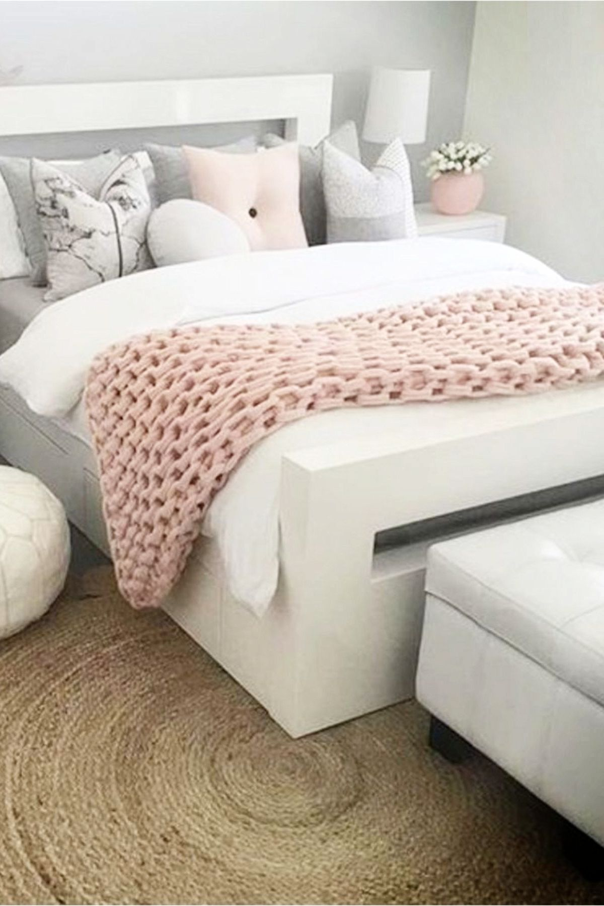 Blush Pink Bedroom Ideas Dusty Rose Bedroom Decor And Bedding I Love Clever Diy Ideas Pink Bedroom Decor Dusty Pink Bedroom Pink Bedrooms