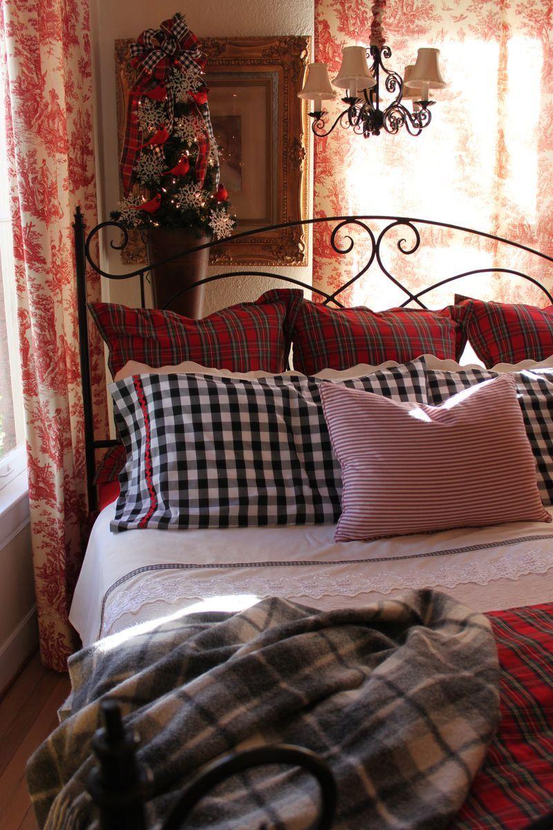 cozy bedroom by Opulent Cottage    Brenda Kula via Kim Nichols onto Now I Lay Me Down To Sleep