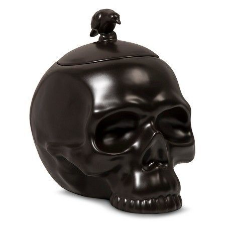 Target\u0027s Halloween Decorations Are Scary-Good Candy bowl - skull halloween decorations
