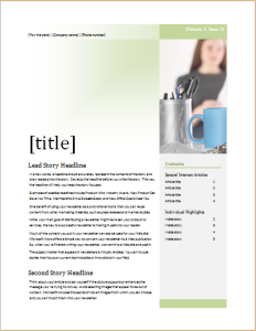 Business Newsletter Download At HttpWwwDoxhubOrgNewsletter