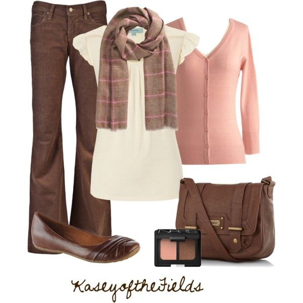 Pink And Brown Brown Pants Outfit For Work Brown Outfit Fashion