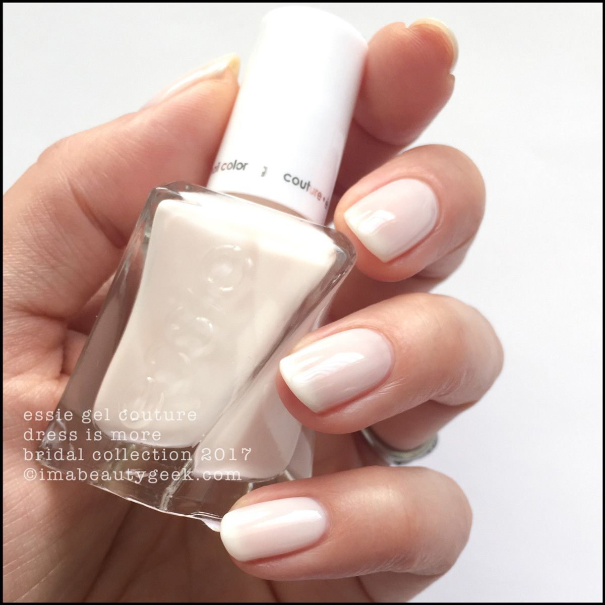 Bridal Gel Nail Polish: ESSIE BRIDAL 2017 COLLECTION SWATCHES & REVIEW Nel 2019