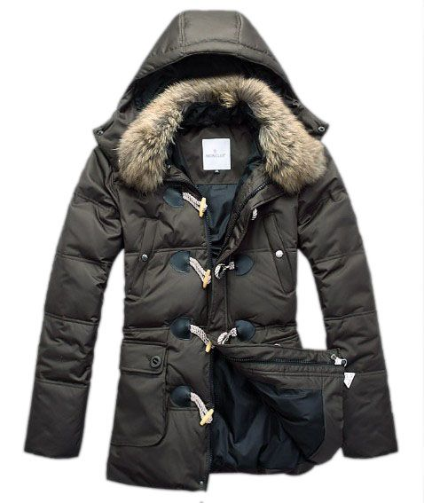 52be092ad Moncler Down Coat Men Elegance Army Green | Boys in 2019 | Moncler ...