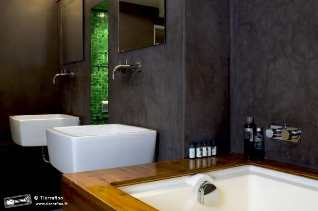 salle de bain en tadelakt marocaine | Bathroom | Bathroom, Bathroom ...