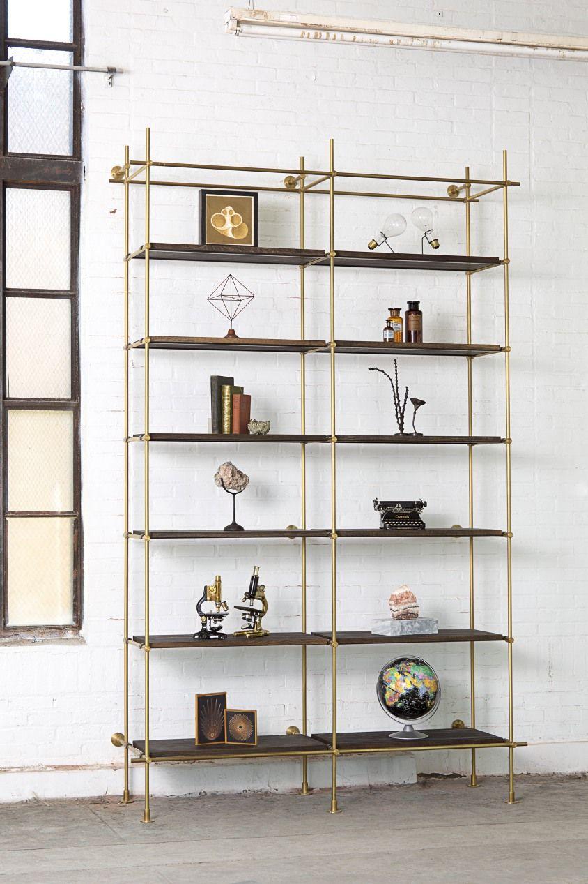Kitchen Bookshelf Wall