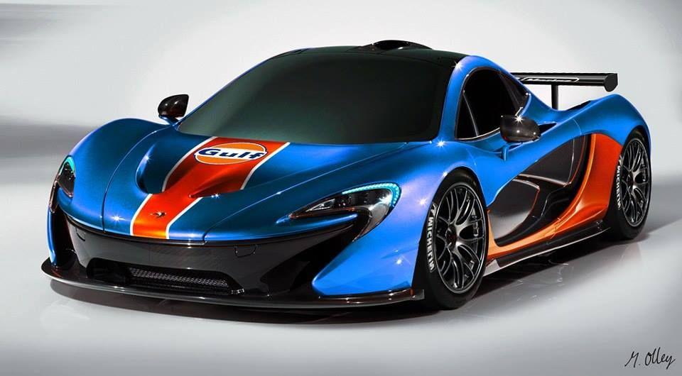 Exceptional McLaren P1 GTR Gulf Concept