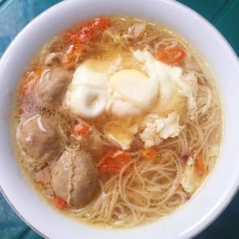 Resep Misoa Kuah Ebi Oleh Angelina Resep Makanan Resep Makanan Resep