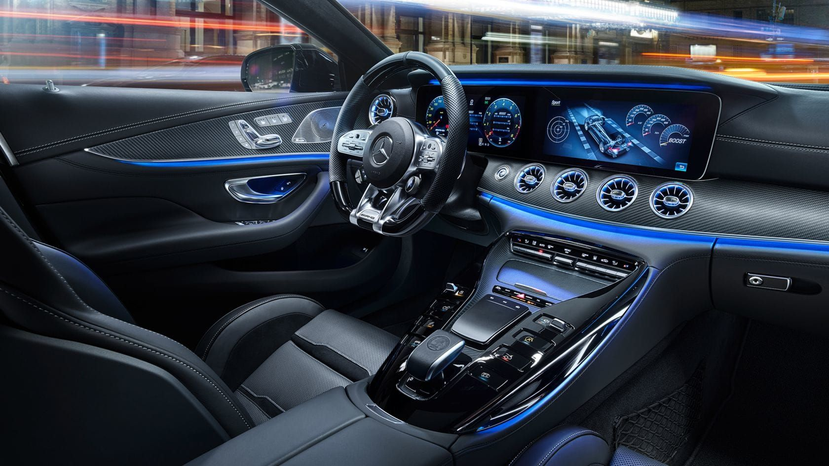 Mercedes Amg Gt 4 Door Coupe Interior With Images Mercedes Amg