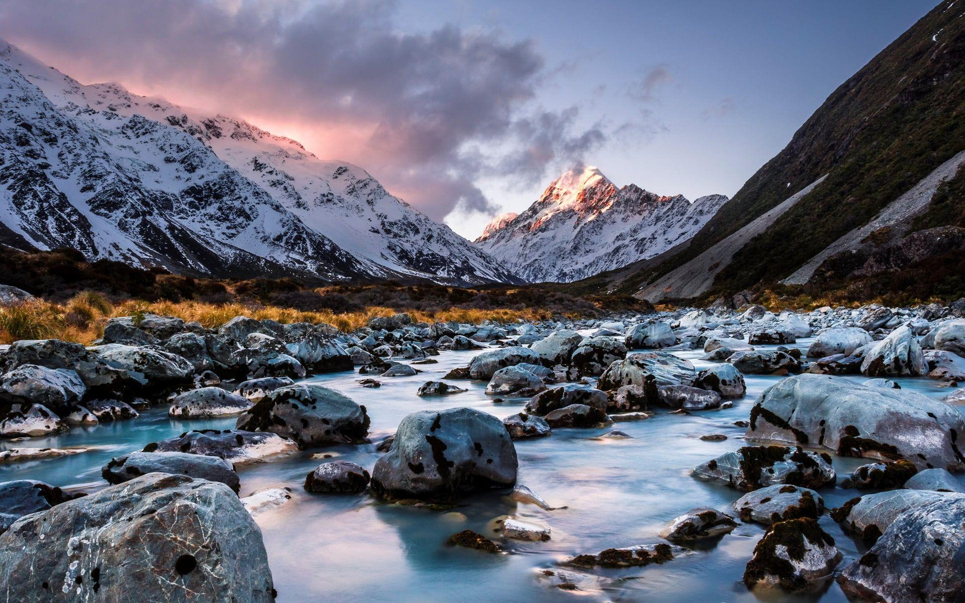 New Zealand South Island Travel Scenery Wallpaper 1080p Wallpaper Hdwallpaper Desktop Island Travel New Zealand South Island South Island