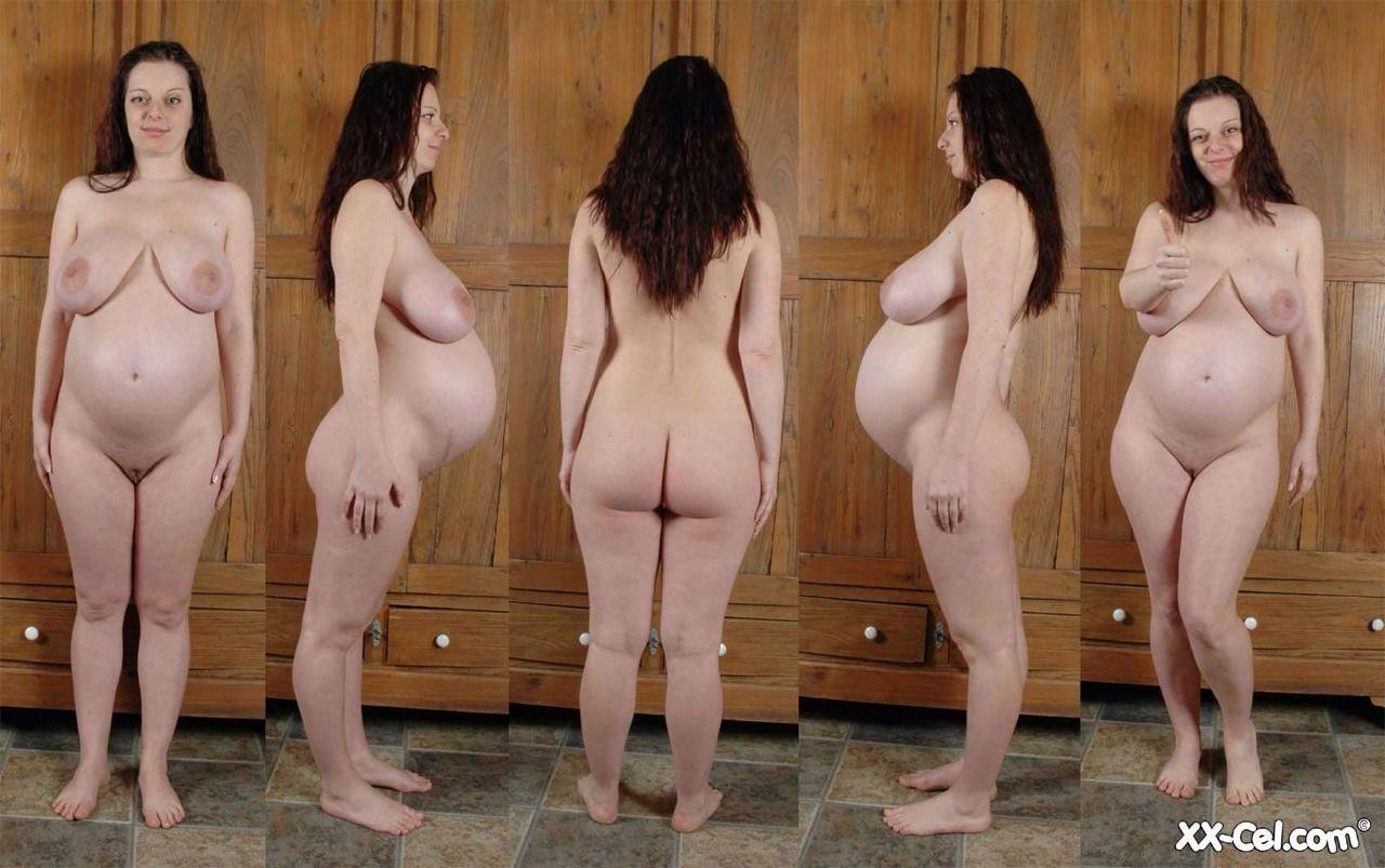 Bondage pregnant and naked