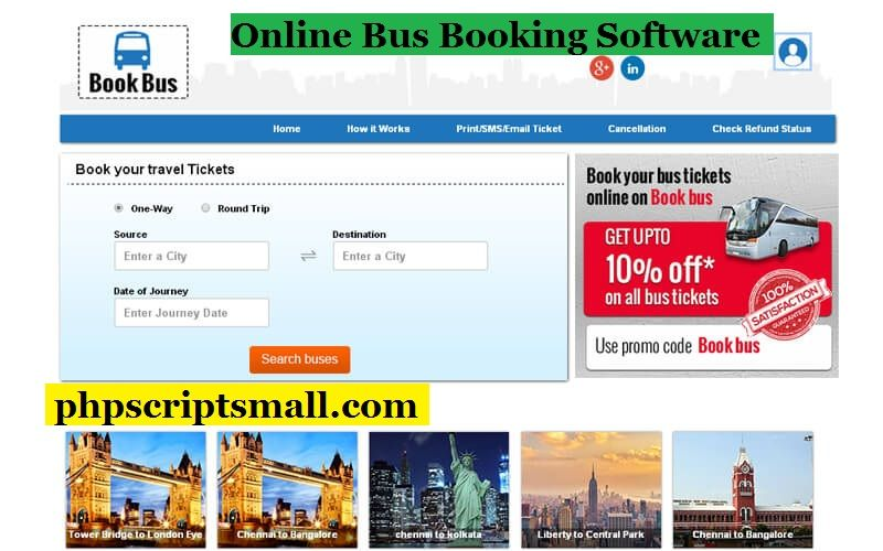 Advanced Bus Booking Script Traveling by yourself, Bus