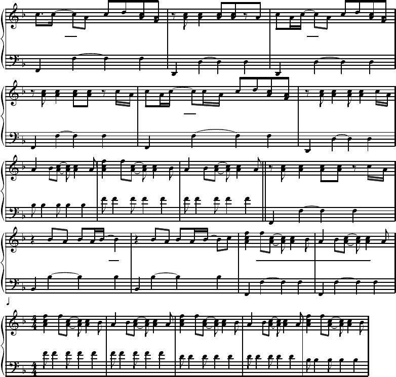 All Music Chords fall for you sheet music : Bruno Mars - Just The Way You Are (Sheet music - Partitura).pdf ...