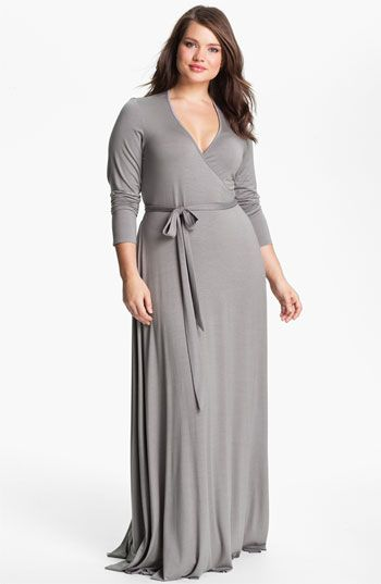 1f3cb06c38ac3 Rachel Pally Long Wrap Dress (Plus size) available at  Nordstrom ...
