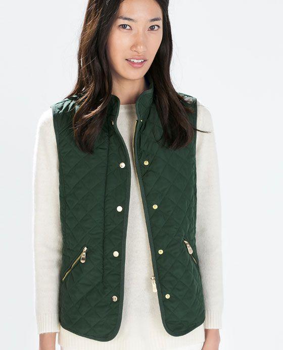 ZARA - SPECIAL PRICES - PADDED vest $40