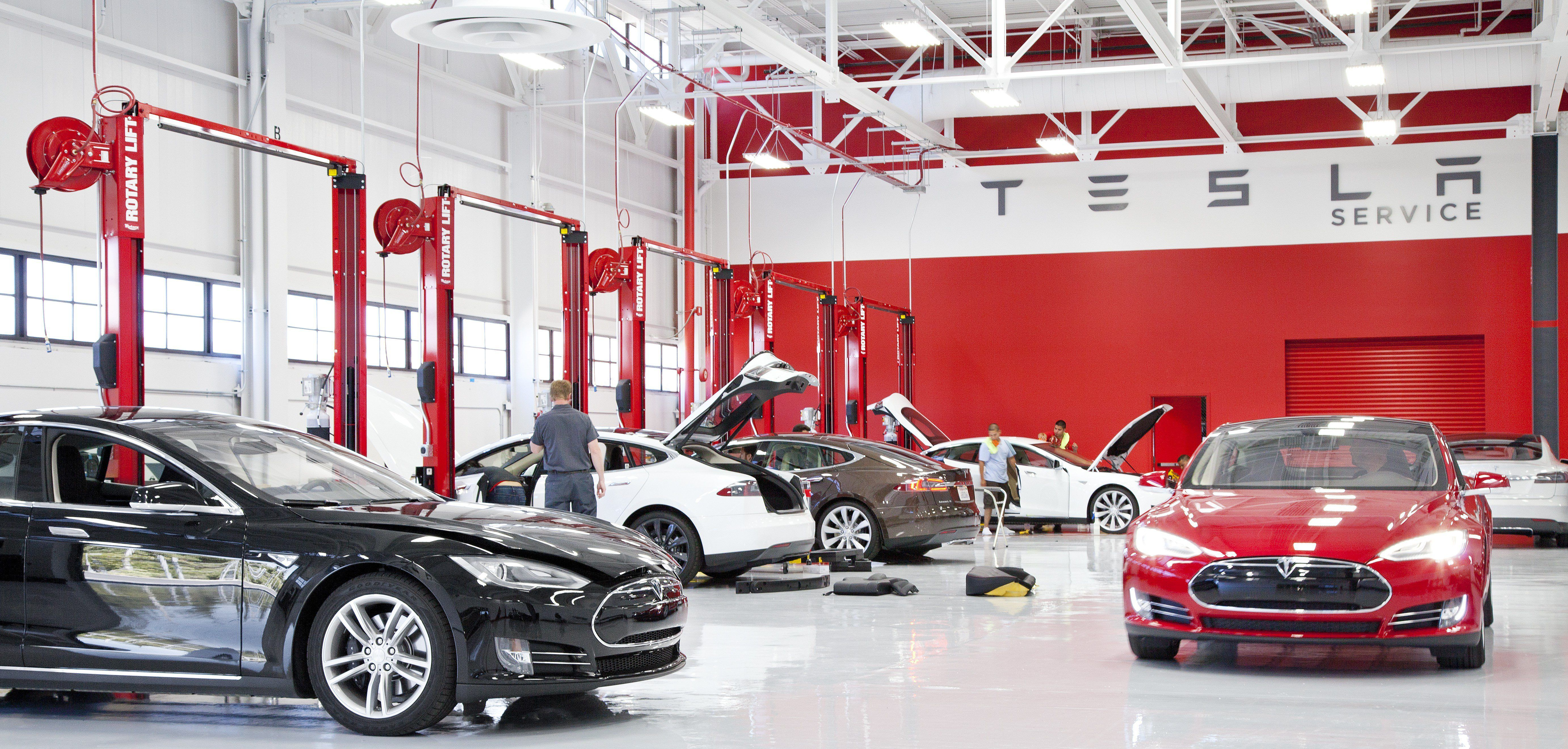Tesla Gets A Service Center With An Expiration Date In Indiana