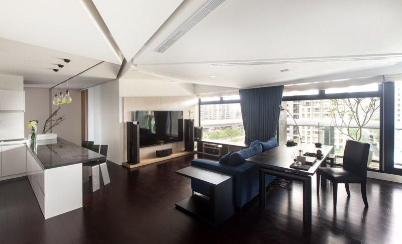 modern house Taipei 13 High Level of Interactivity Exuded by - design ideen fur wohnungseinrichtung belgrad aleksandar savikin