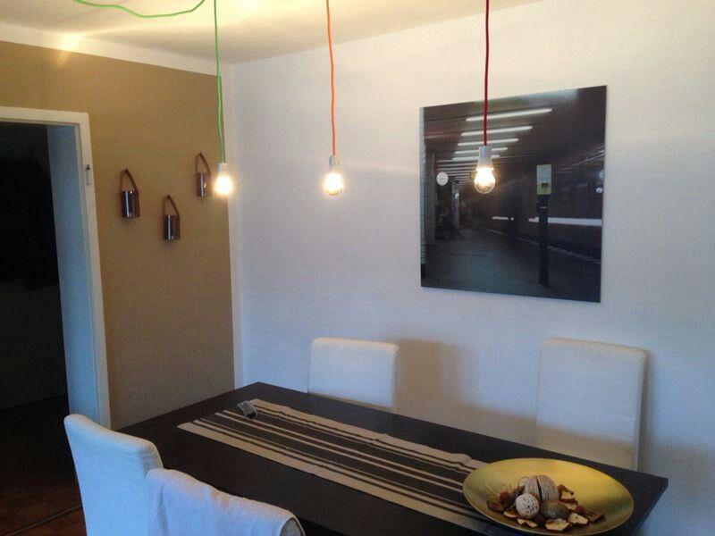 Easy textil cable lamp