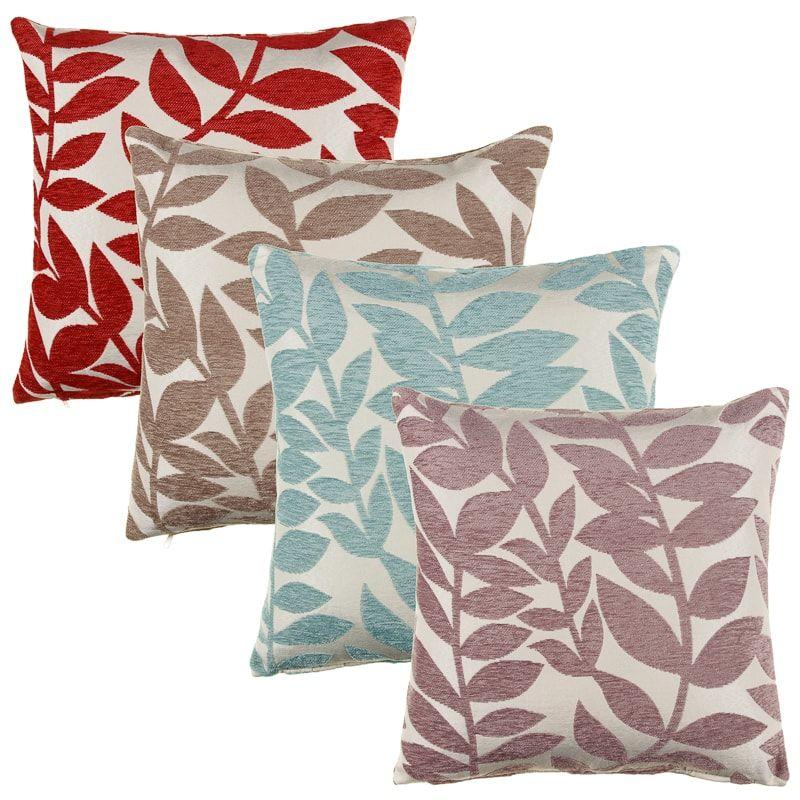 Marvelous Laura Trailing Leaf Cushion Cover 2Pk Home Decor Bm Creativecarmelina Interior Chair Design Creativecarmelinacom