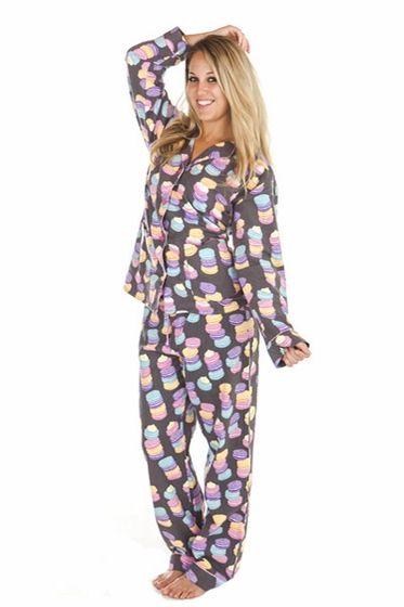 26ed54a81d Everyone loves Macarons!! PJ Salvage Macaron Pajama Set