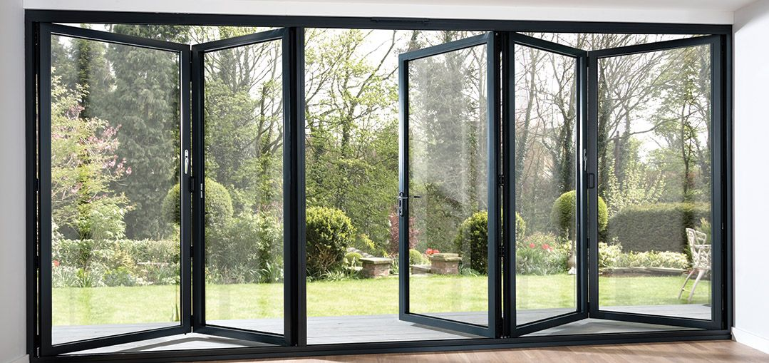 10 Reasons To Choose A Bi Fold Door Midland Bi Folds Folding Patio Doors Garage Door Design Sliding Folding Doors