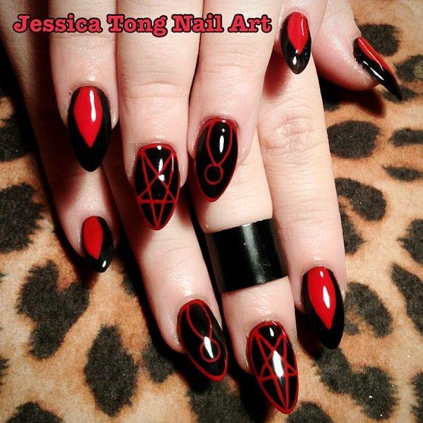 Nailart Occult Jessicatong
