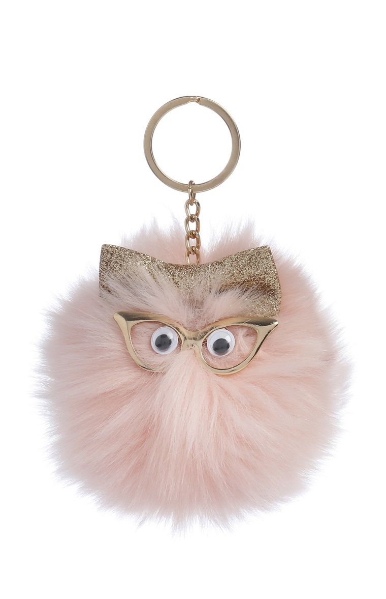 8b47838188 Primark - Novelty Pompom Keyring | Consignment Store in 2019 ...