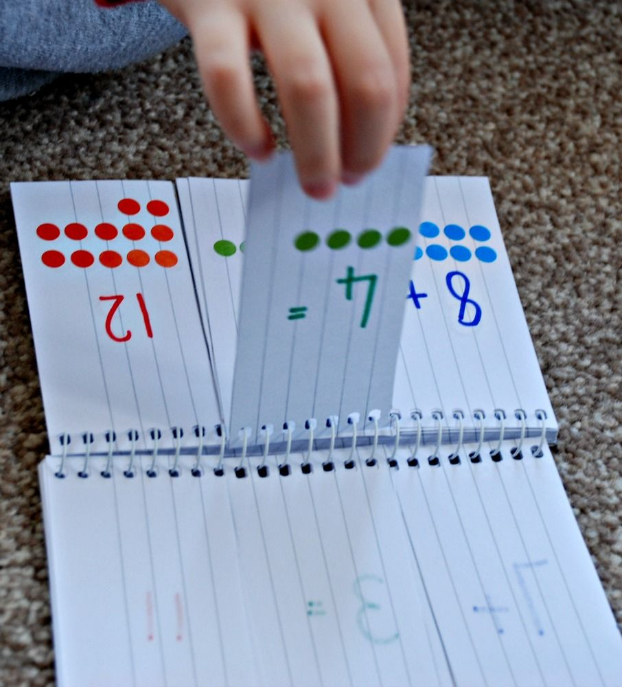 Addition and Multiplication Home-made flip books | Homeschooling ...