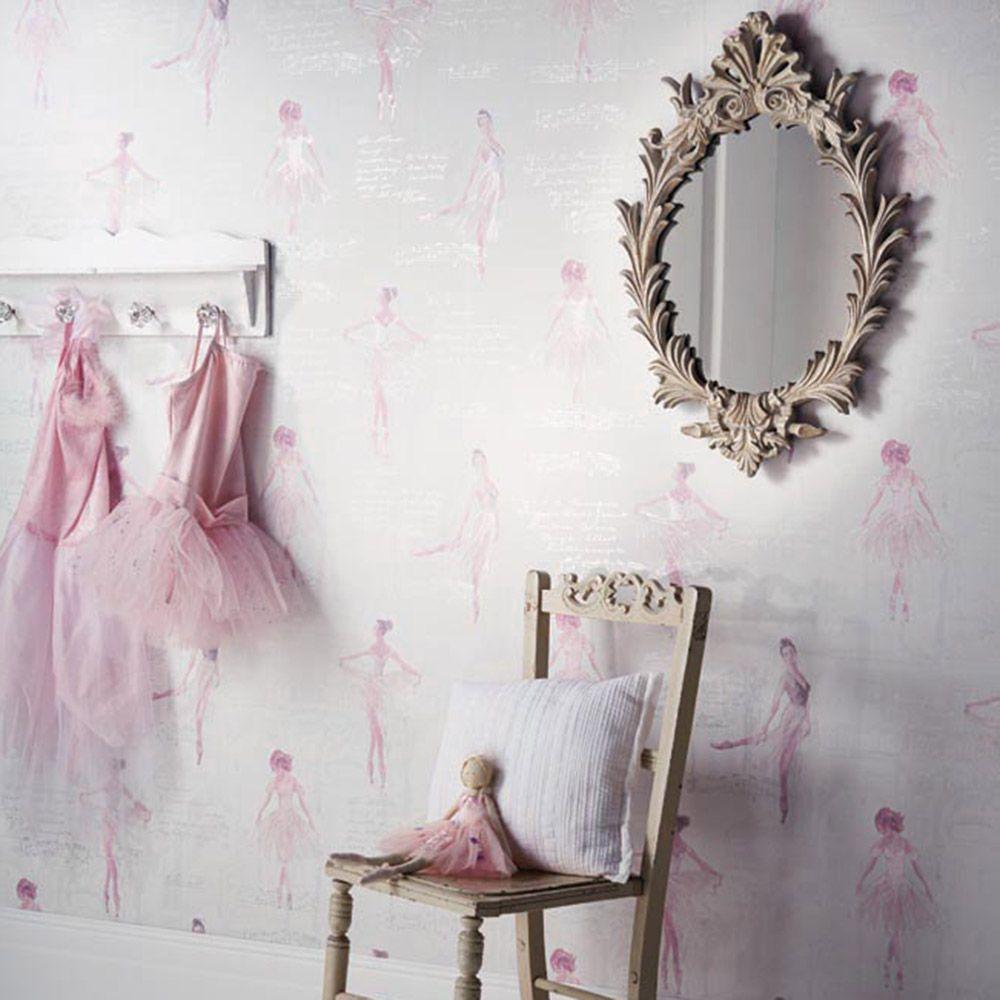 Best Pirouette Ballet Ballerina Wallpaper Pink Arthouse 668200 640 x 480
