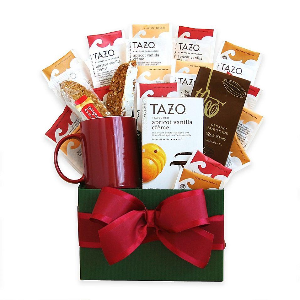 Tazo Tea Temptations Gift Set Multi   Tea gifts, Tea gift sets, Gourmet gift baskets