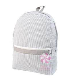 Mint Seersucker Backpack and Lunch Box Set  ba9e31c182880