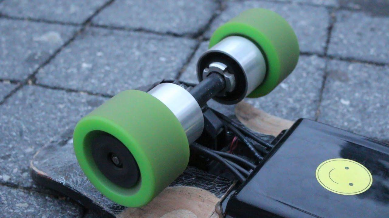 Diy Custom Built Electric Skateboard 30mph Youtube Diy Custom Electric Skateboard Custom Build