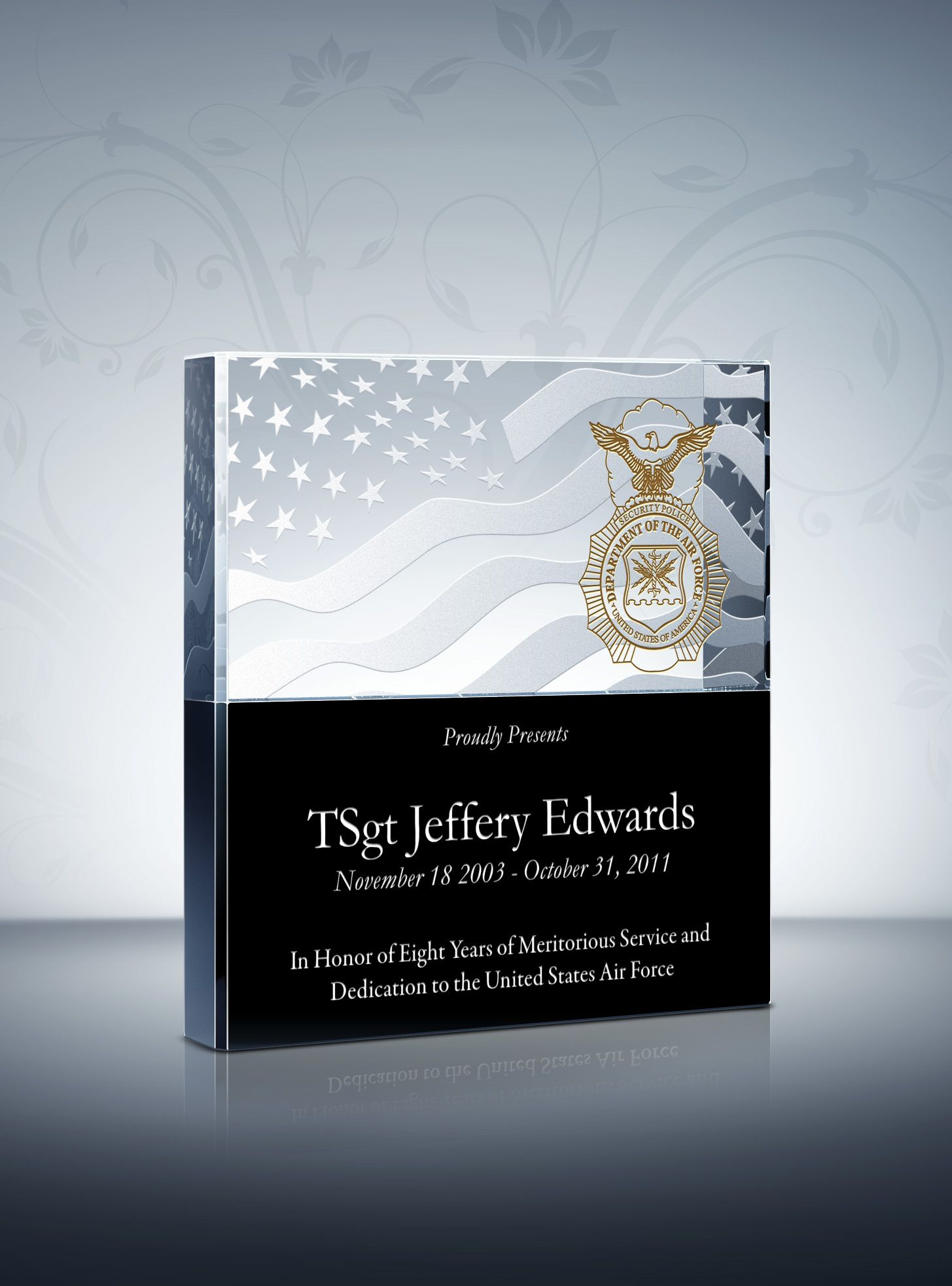 Air Force Appreciation Plaques and Wording Samples in 2019 ...