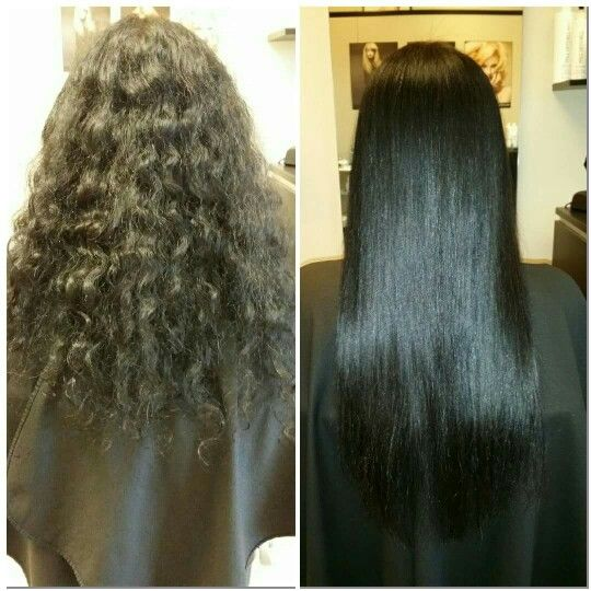 Keratin Complex Smoothing Treatment Before After Amazing