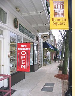 The mushroom cap in kennett square pa kennett square - Places to eat near longwood gardens ...