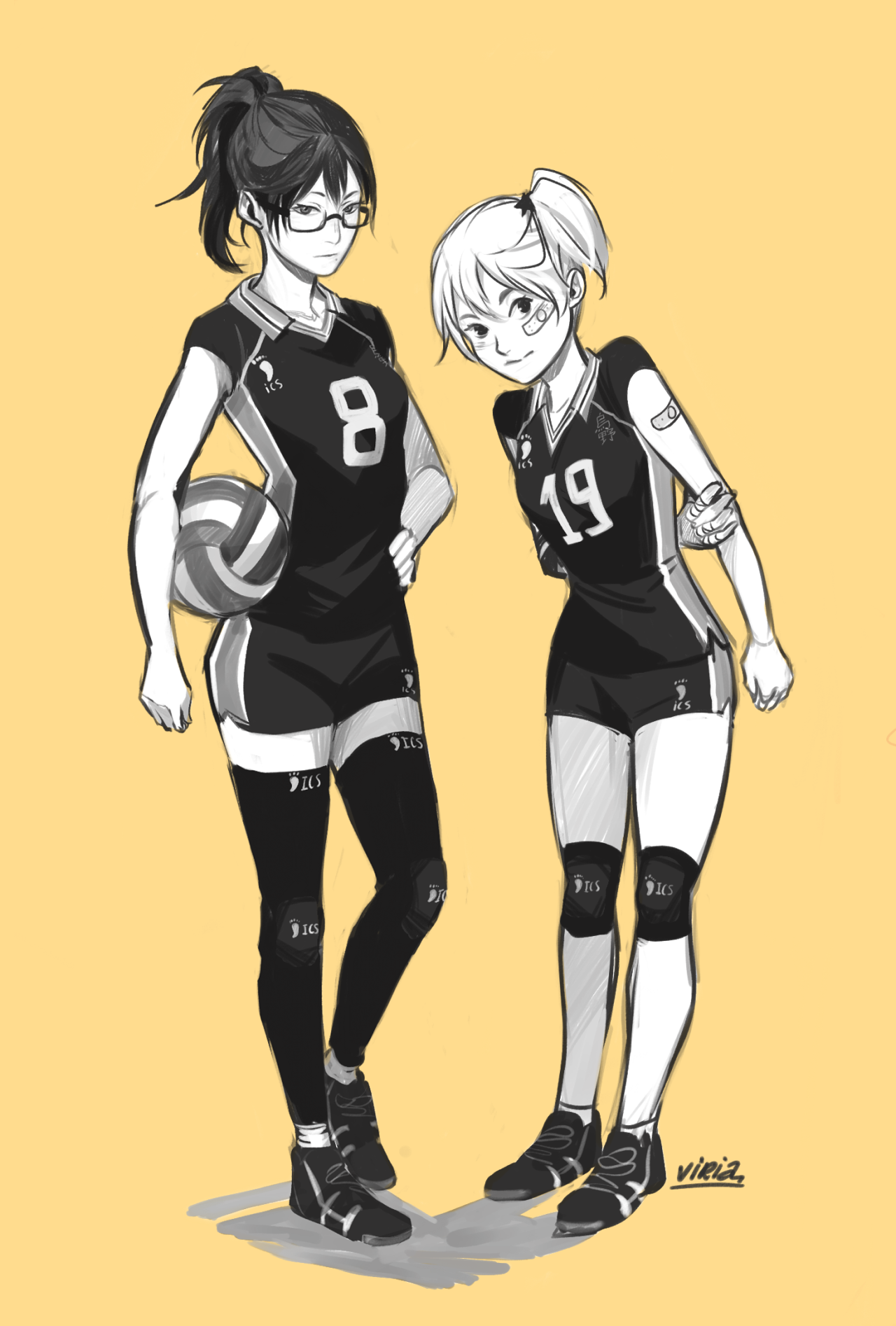 These Outfits Are My End Haikyuu Yachi Haikyuu Haikyuu Genderbend