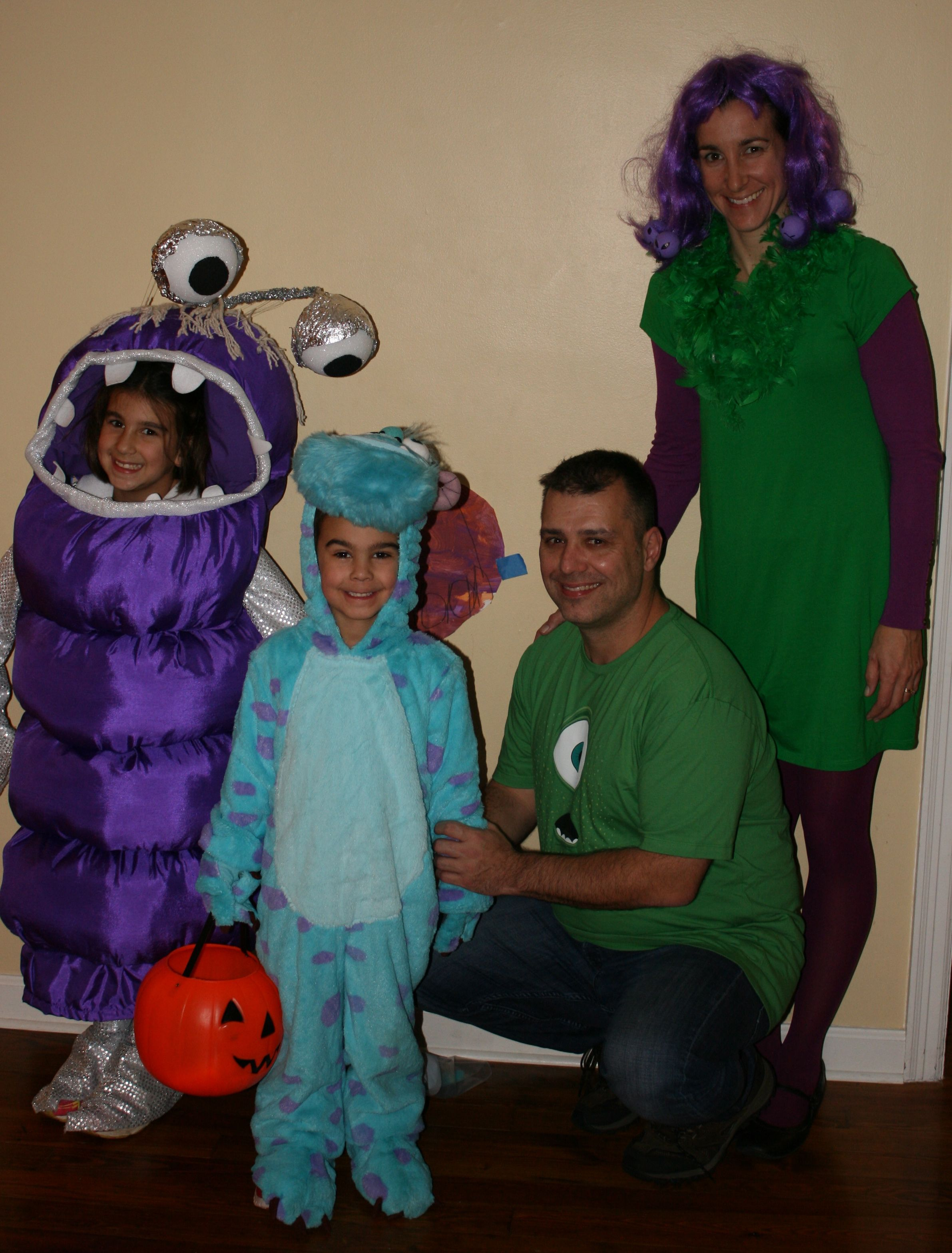 monsters inc. halloween costume boo sully celia mike | halloween in