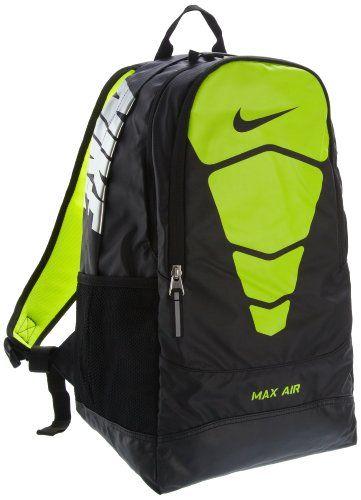 lime green nike backpack