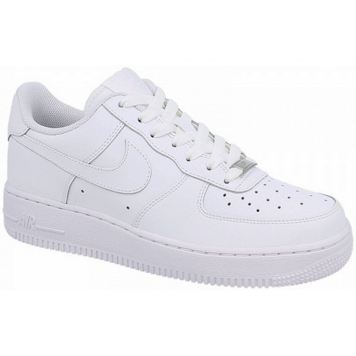 Buty Nike Air Force 1 Gs Jr 314192 117 Biale Nike Air Force Nike Air Nike Air Force Sneaker